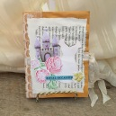 Handmade journal fit for a princess made by shepherdssongcreations.com